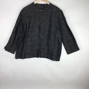 Eileen Fisher Linen/cotton Cardigan Jacket
